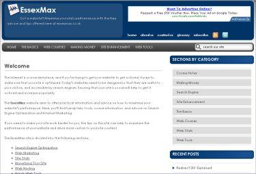 Essex Max Website